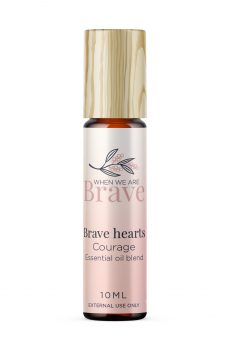 When we are Brave Courage Oil
