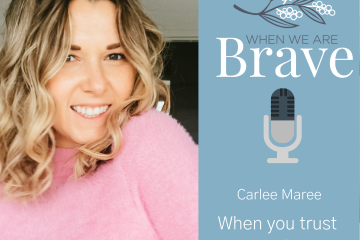 When we are Brave with Tiffany Johnson interview with Carlee Maree