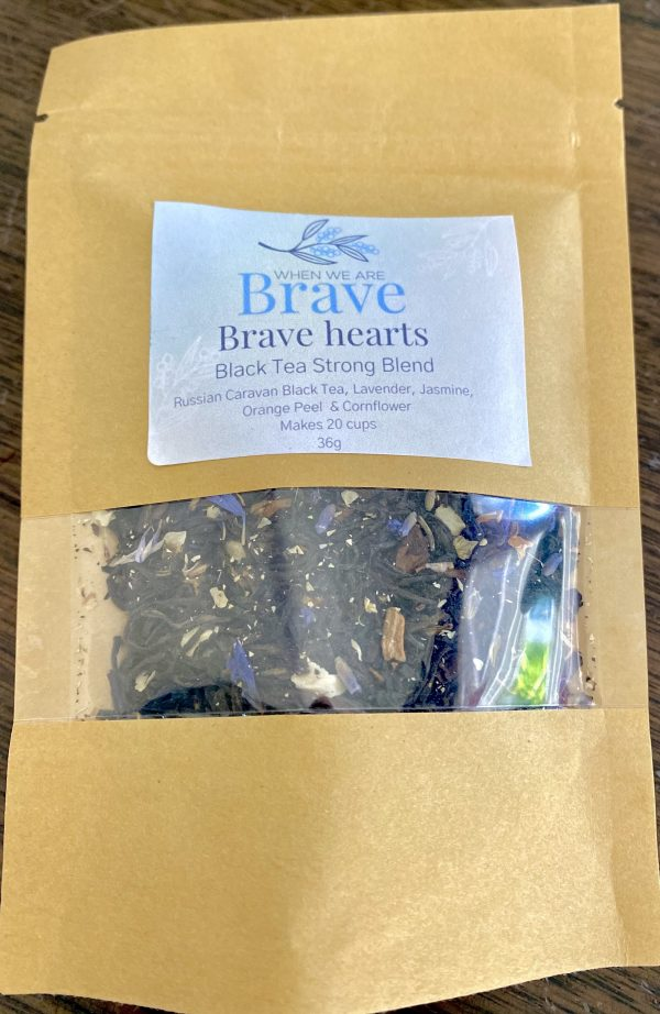 Brave Hearts Strong Black Tea Blend