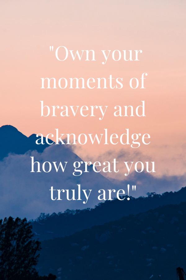 Discovering your BRAVE, a guided journal to unlocking your best and bravest self
